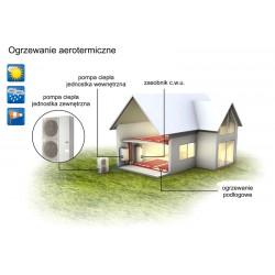 Powietrzna pompa ciepła Lizea II IV 6 MM do 110 m2 6 kW