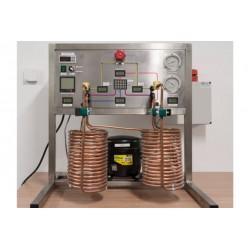 Pompa ciepła - zestaw demonstracyjny, rozbudowany